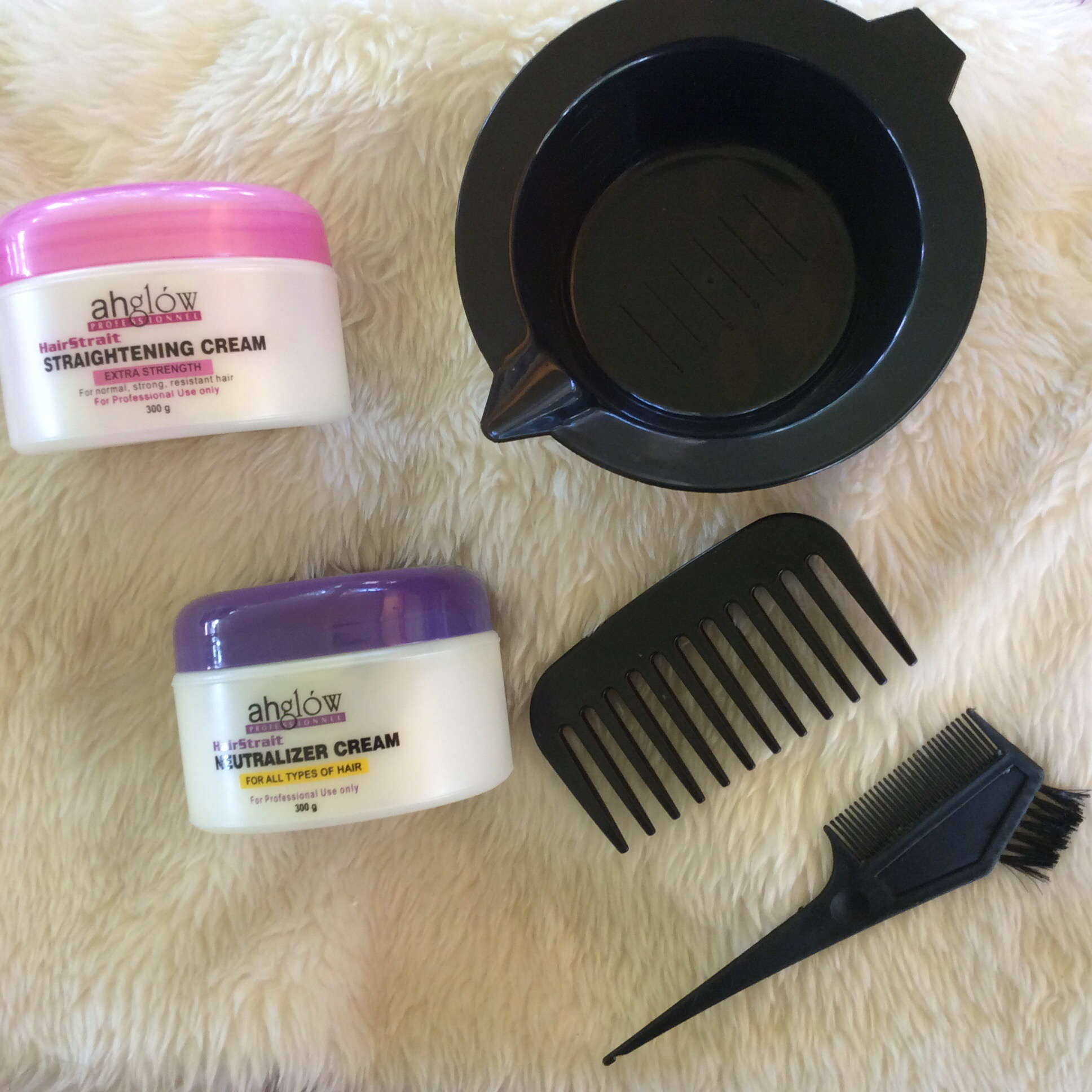 Matrix hair brush 4 -  The Hairstrait Rebonding Products Two Ceramic Flat Irons Accessories Like Gloves Bowl Tinting Brush With Comb Wide Toothed Comb And Hair Clips